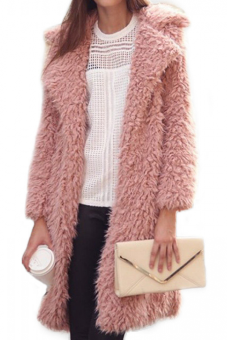 Loose Long-Sleeved Coat Jacket